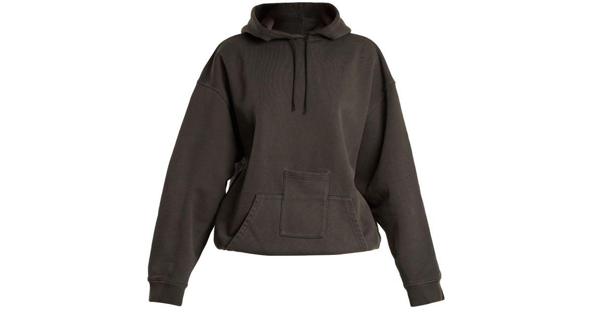 Lyst - Balenciaga Hoodie Sweater in Gray 6ff4e95a6