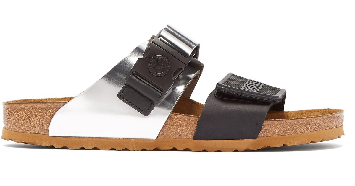 4e87a9de359 Rick Owens X Birkenstock Arizona Leather Sandals for Men - Lyst