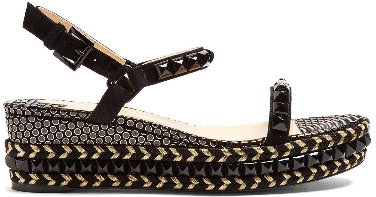 fea93e7cef6e where to buy christian louboutin cataclou 60 studded espadrille sandals va  d0eec e36e4