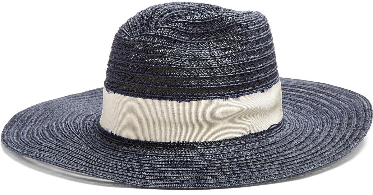 Batu Tara hemp-straw hat Fil gpm33rRzyq
