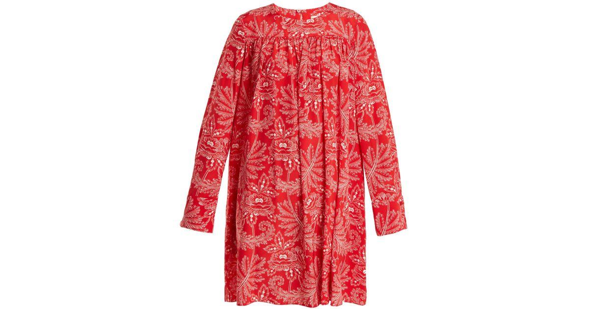 best loved 14ce3 5c380 diane-von-furstenberg-pink-print-Ullman-Floral-Print-Silk-Crepe-De-Chine-Dress.jpeg