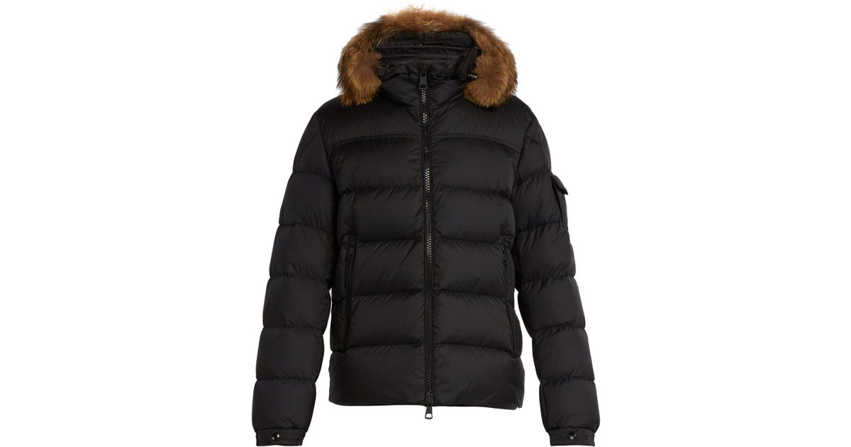 Lyst - Moncler Marque Quilted-down Jacket in Black for Men eb94f61dade