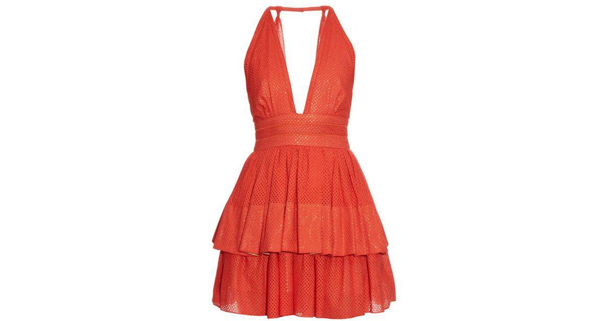 Anais plunging-neckline dress Sophie Theallet TJT2AE