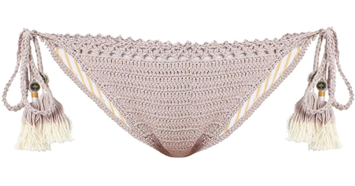 Essential Tie-Side crochet bikini briefs She Made Me Wide Range Of Cheap Price Buy Cheap Marketable Clearance For Sale With Credit Card For Sale EZnsep7oA