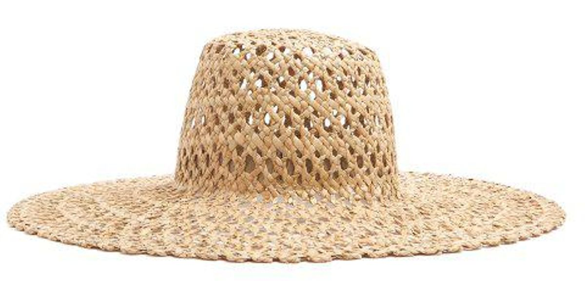 Lola Hats Espalier Straw Hat in Natural - Lyst bd8987f153c4