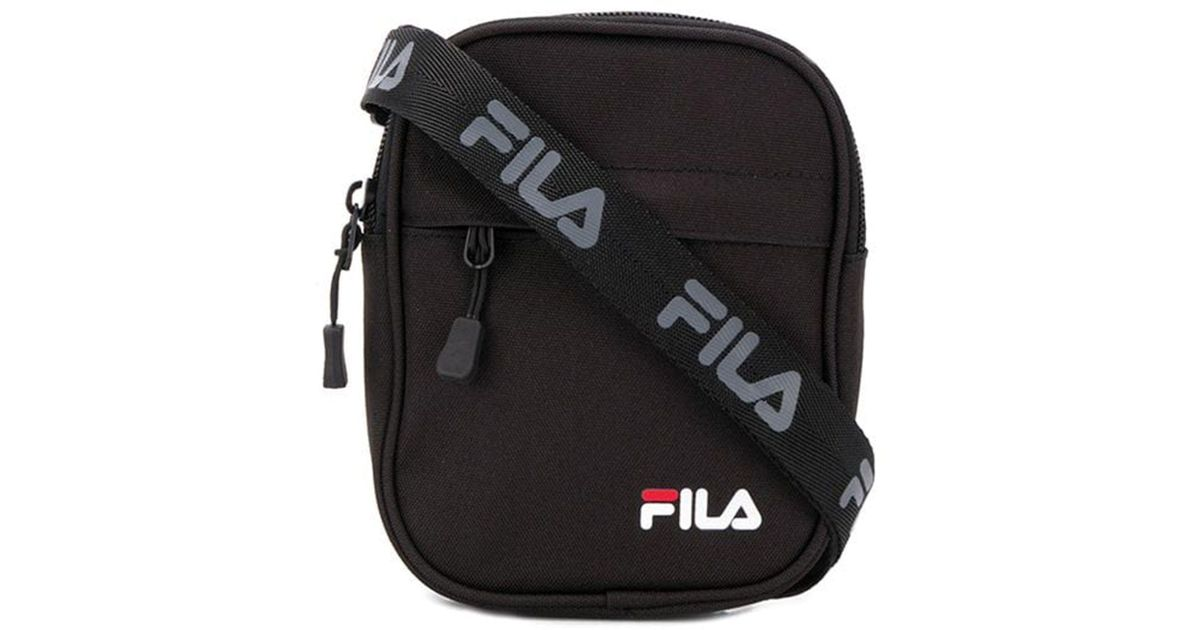 15e98a50b3b Lyst - Fila Black Polyester Travel Bag in Black