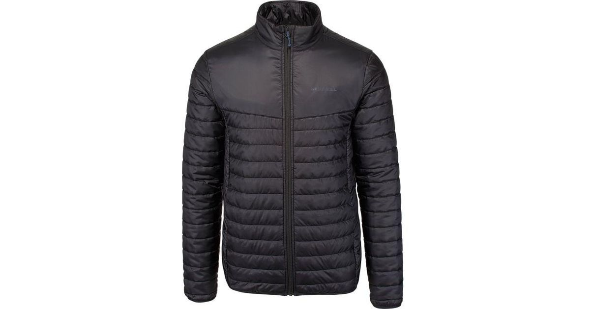 f83a745bd Merrell Entrada Insulated Jacket in Black for Men - Lyst