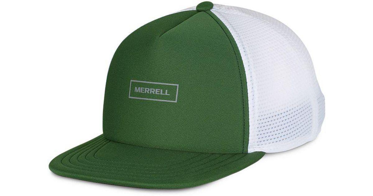 Lyst - Merrell Performance Trucker Hat in Green for Men b66c420ac44