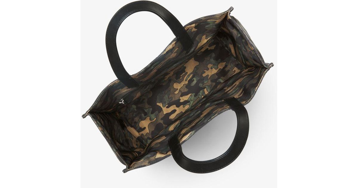 2be9fc7a2628 Michael Kors Kent Reversible Camouflage Nylon Tote in Black for Men - Lyst