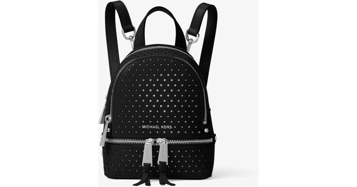 7e2abab955fb switzerland michael kors rhea perforated backpack fe643 de303