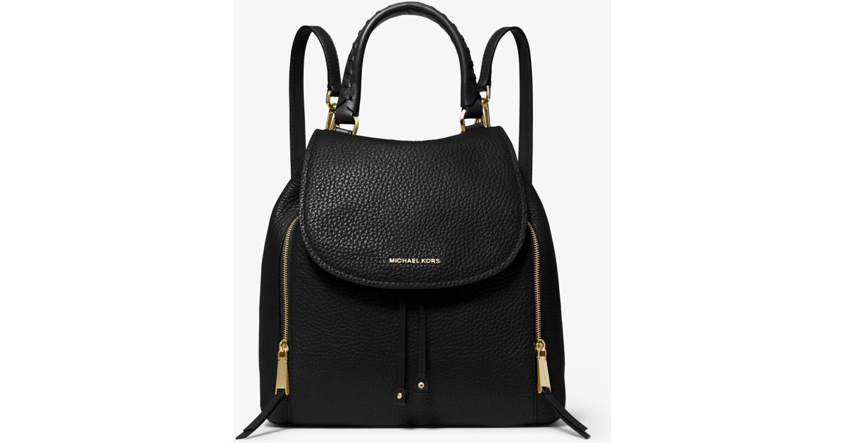 4d66b602956eb8 MICHAEL Michael Kors Viv Large Backpack Bag in Black - Lyst