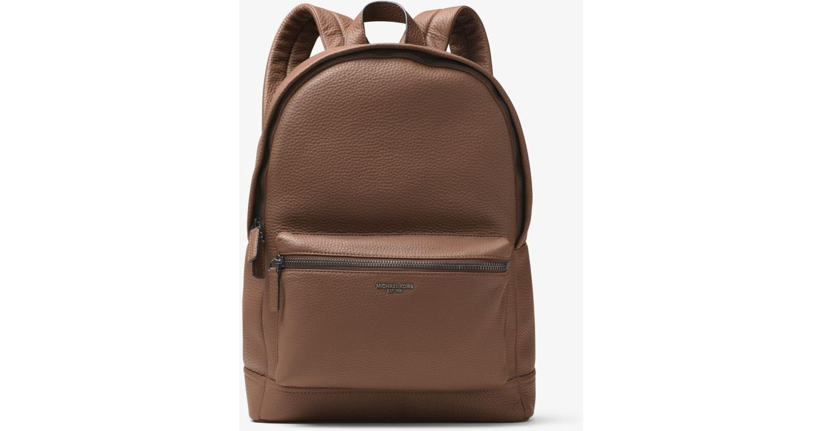 67ce682b6ba1 Michael Kors Bryant Leather Backpack for Men - Lyst