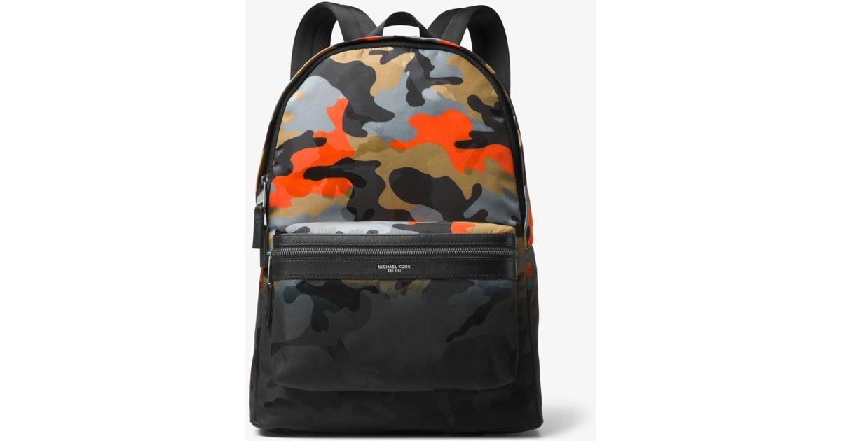 b5841c6ecc8fd1 Michael Kors Kent Camouflage Backpack for Men - Lyst