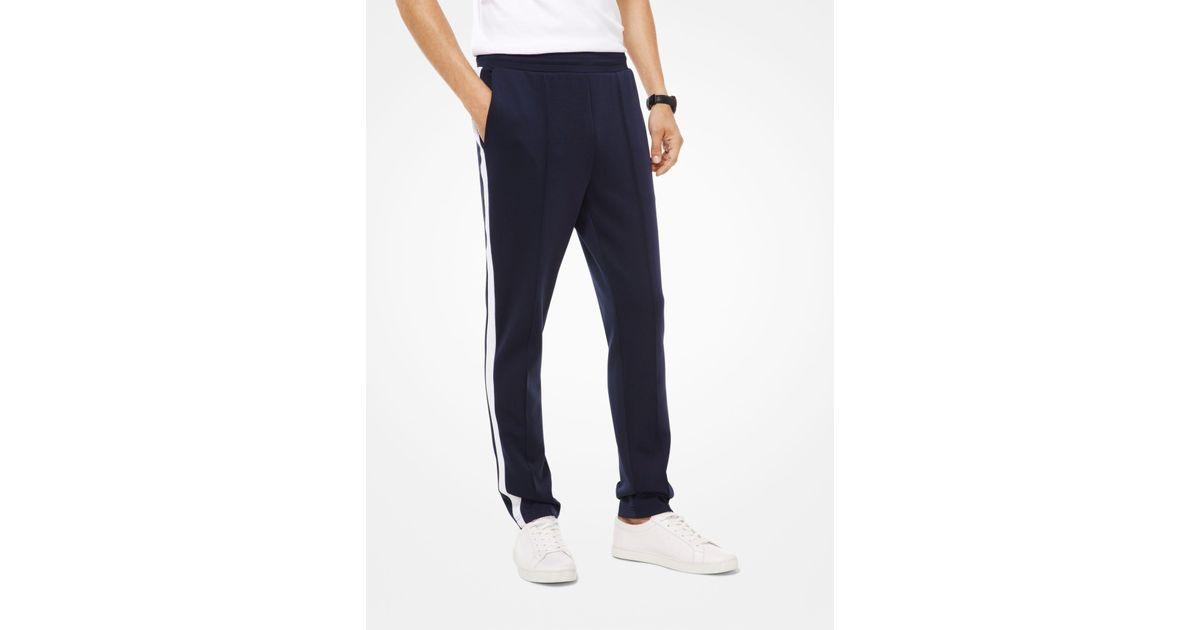 Lyst - Pantalón deportivo de neopreno Michael Kors de hombre de color Azul a3b358e9a7d5