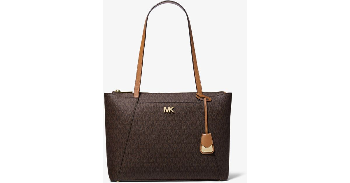 2913a37e9adc Michael Kors Women's Medium Maddie Leather Top-Handle Bag Tote