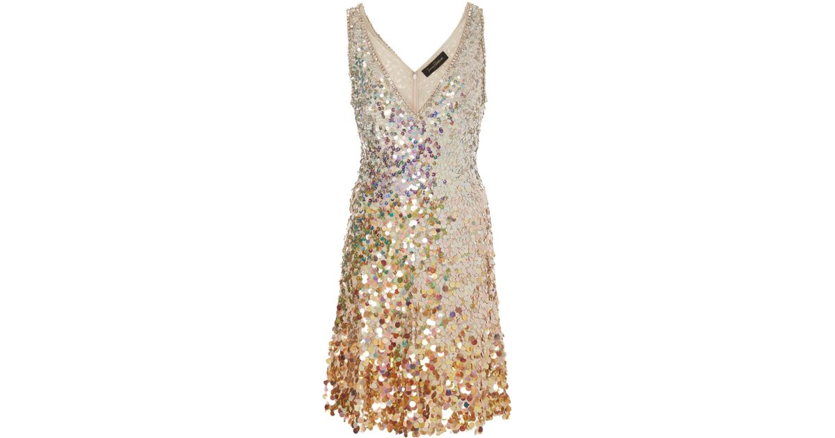 Nile Sequin Mini Dress Jenny Packham UR8LBAbay0