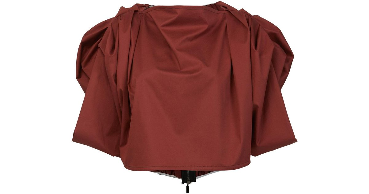Facet Draped Blouse Maticevski Cheap Reliable Buy Cheap 100% Original Genuine With Paypal Low Price PnbRV1QbOE