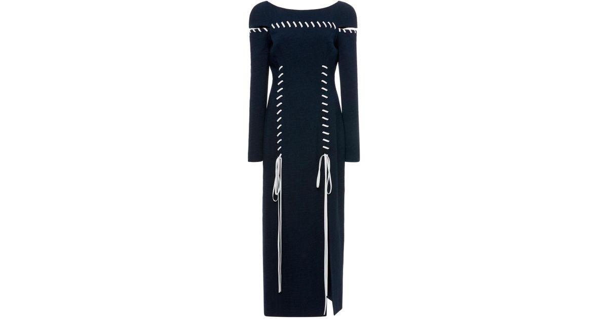 Cross Chest Whipstitch Dress Prabal Gurung hwf0WDP