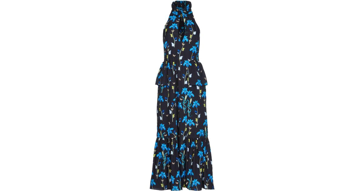 Jasmine crepe maxi dress Borgo De Nor Discount Official Site Discount Footlocker Finishline Eastbay Supply Free Shipping For Sale TUu14sR