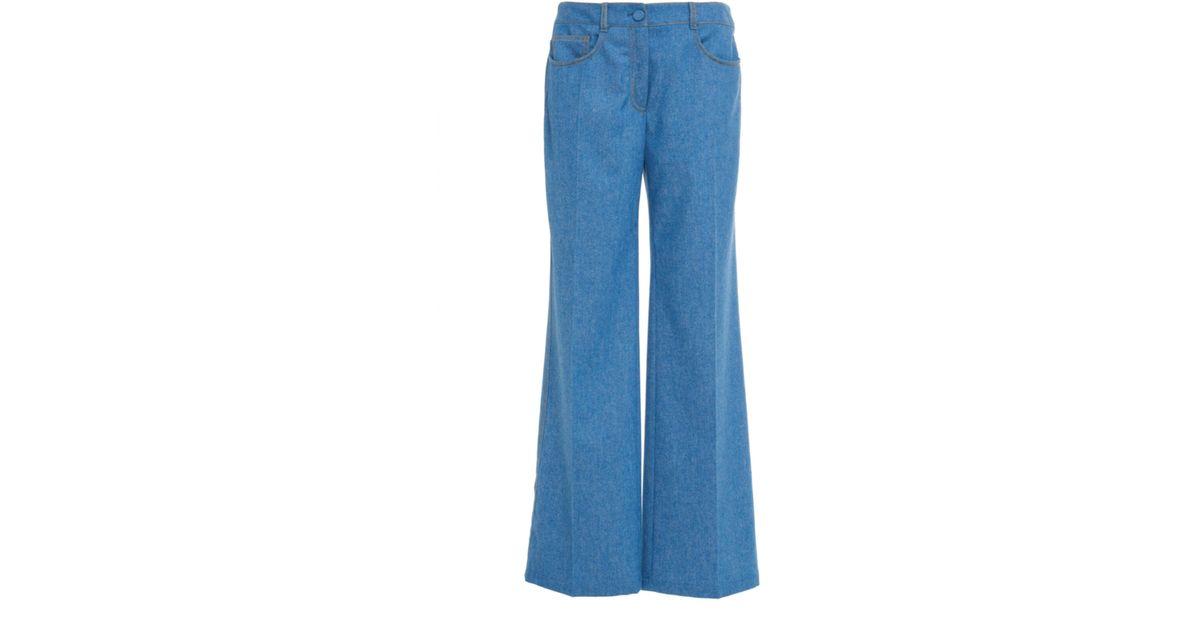 Denim 5 Pocket Trousers Agnona MrRlRDey