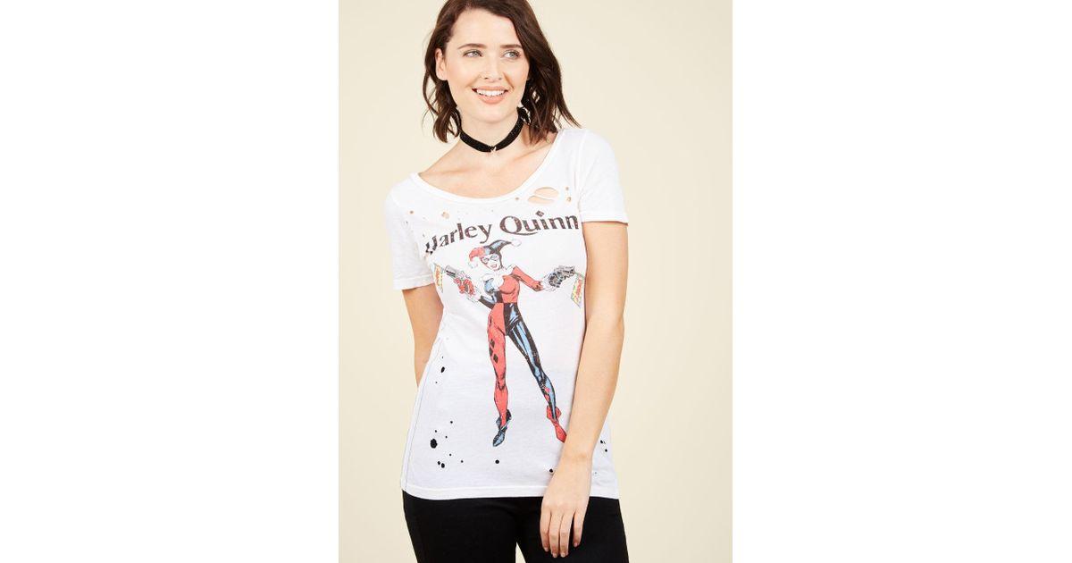 092a7af49040c2 Lyst - Trunk Ltd. Drive You Baddie T-shirt in White
