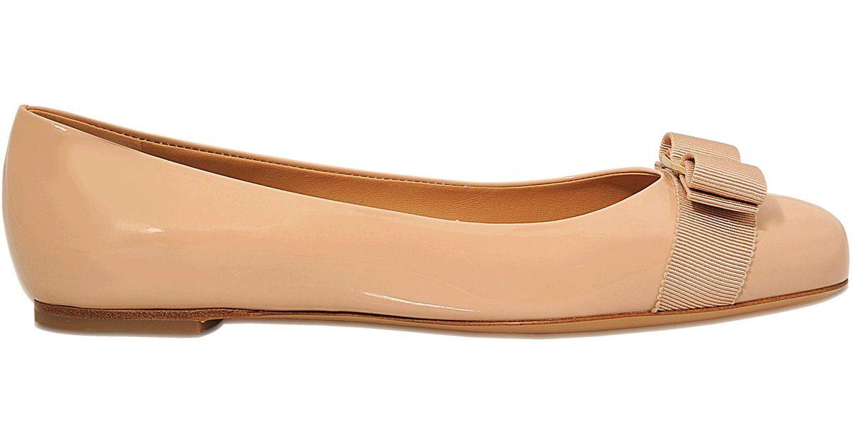 Ferragamo Chaussures Salvatore Métalliques Varina En Soie Style Argent TmaZC