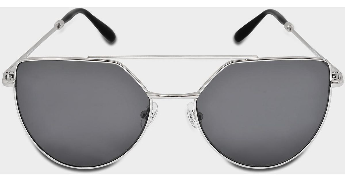 8dc6dfa26b9 Lyst - Spektre Offshore Sunglasses In Silver Stainless Steel