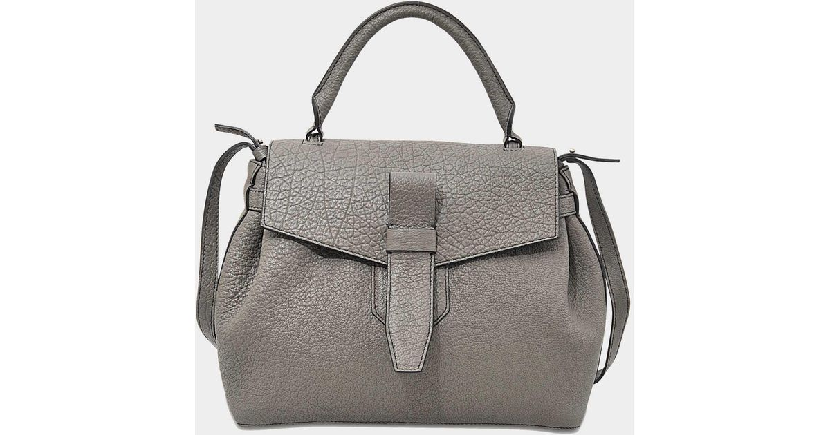7c1df611fc Lyst - Lancel Charlie Handbag in Gray