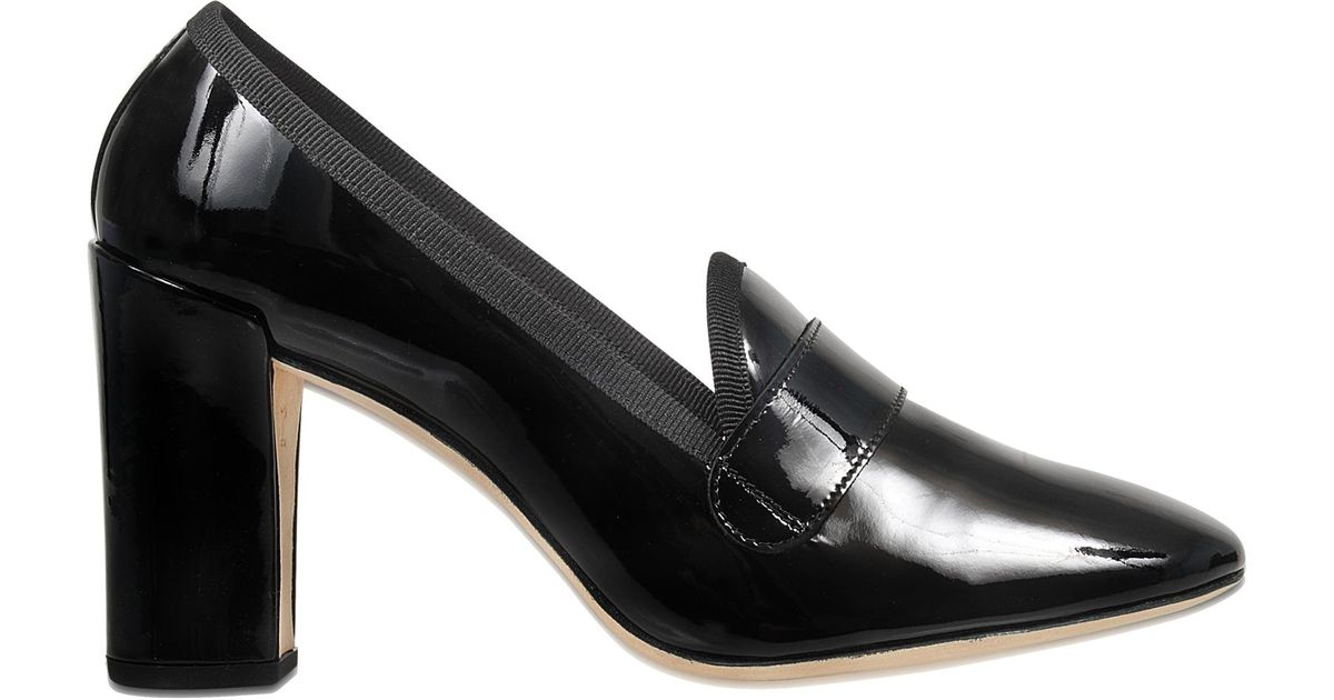 Repetto Edwin loafer with heel