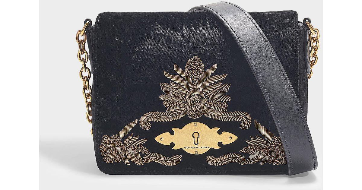 5943b8f1b10 polo-ralph-lauren-Black-Brooke-Chain-Small-Crossbody-Bag -In-Black-Calfskin.jpeg