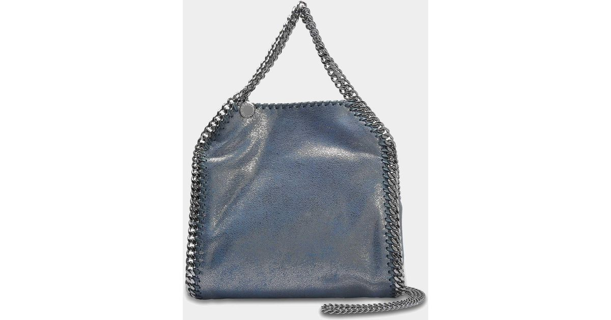1eafa7f707e6 stella-mccartney--Metallic-Shaggy-Deer-Falabella-Mini-Tote-Bag -In-Blue-Lagoon-Eco-Leather.jpeg