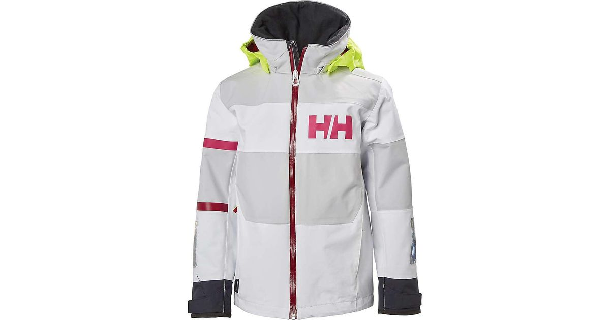 00f371de Lyst - Helly Hansen Kid's Jr Salt Coast Jacket in White for Men