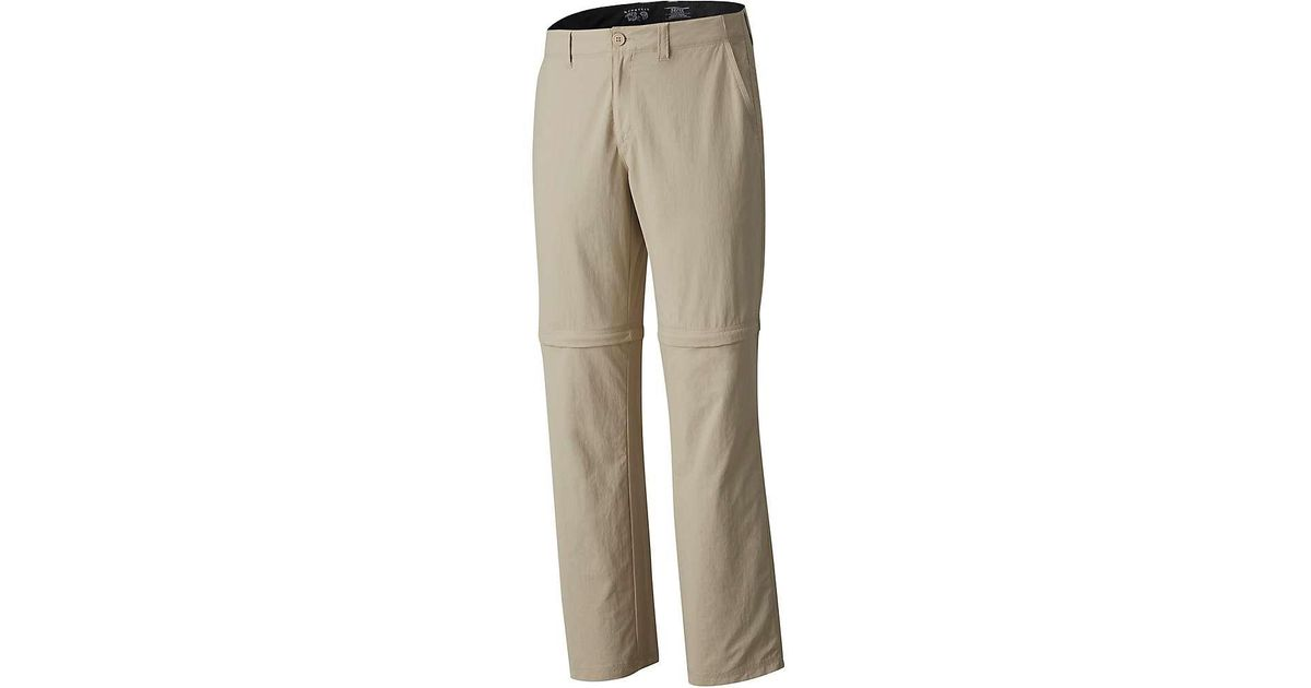 f1dd2140d7 Mountain Hardwear Castil Convertible Pant in Natural for Men - Lyst