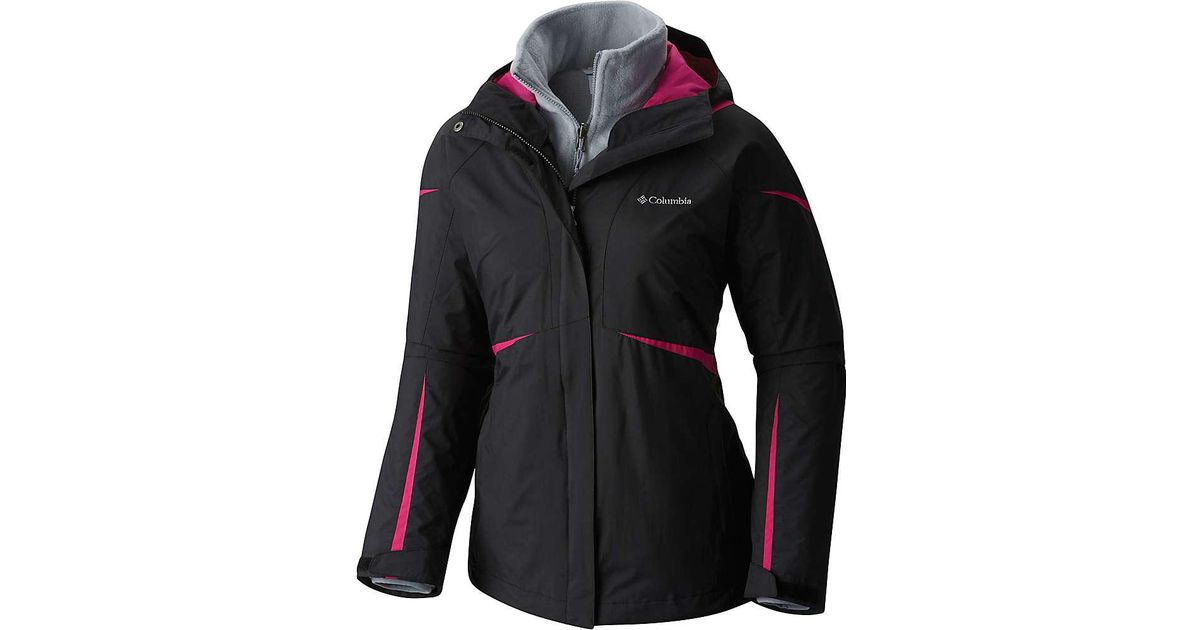 c75ca0c10a1 Lyst - Columbia Blazing Star Interchange Jacket in Black