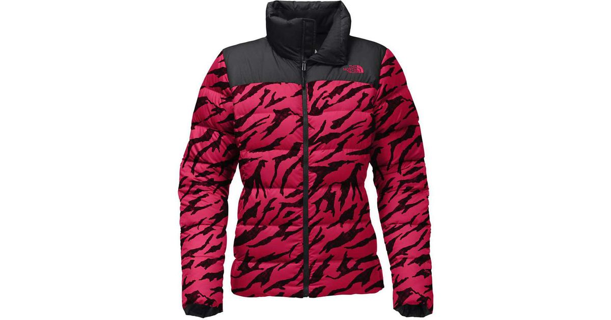 1f29a9010356 Lyst - The North Face Nuptse Down Jacket in Red