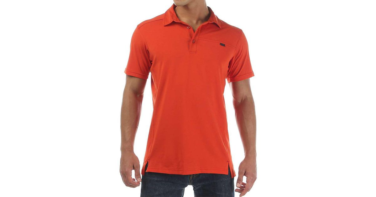 9671f15b82 Lyst - Arc'teryx Captive Ss Polo in Red for Men