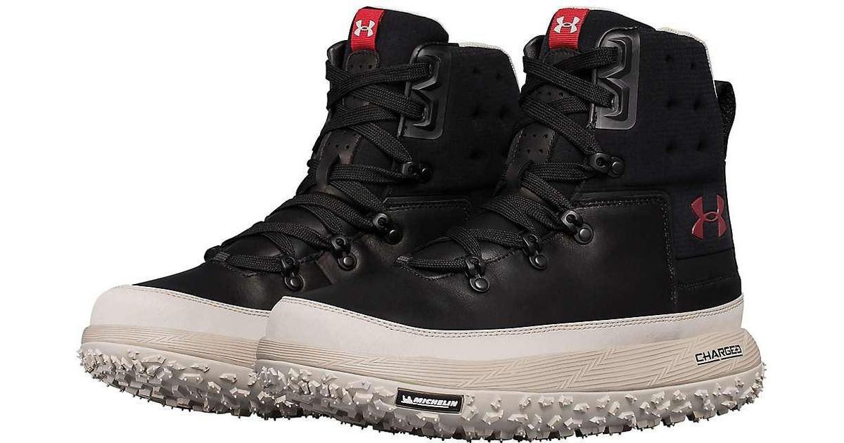 pretty nice 584b3 79ee1 Under Armour Ua Fat Tire Govie Boot in Black for Men - Lyst