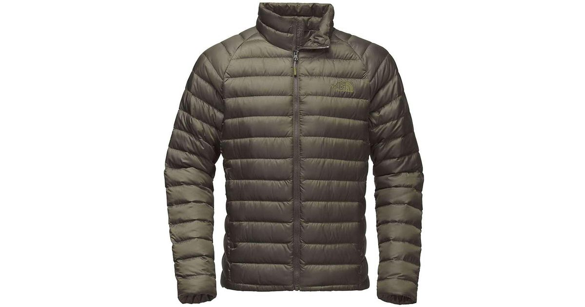 010bc89b76d2 Lyst - The North Face Trevail Jacket in Green for Men