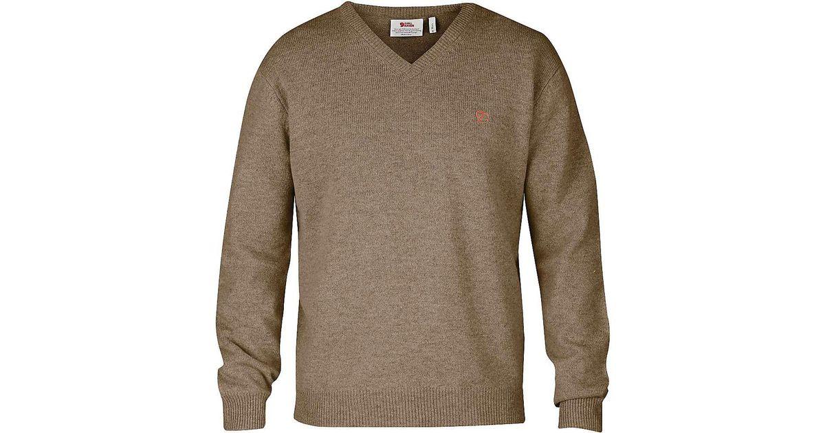 818e68673bdb6 Lyst - Fjallraven Shepparton Sweater in Brown for Men