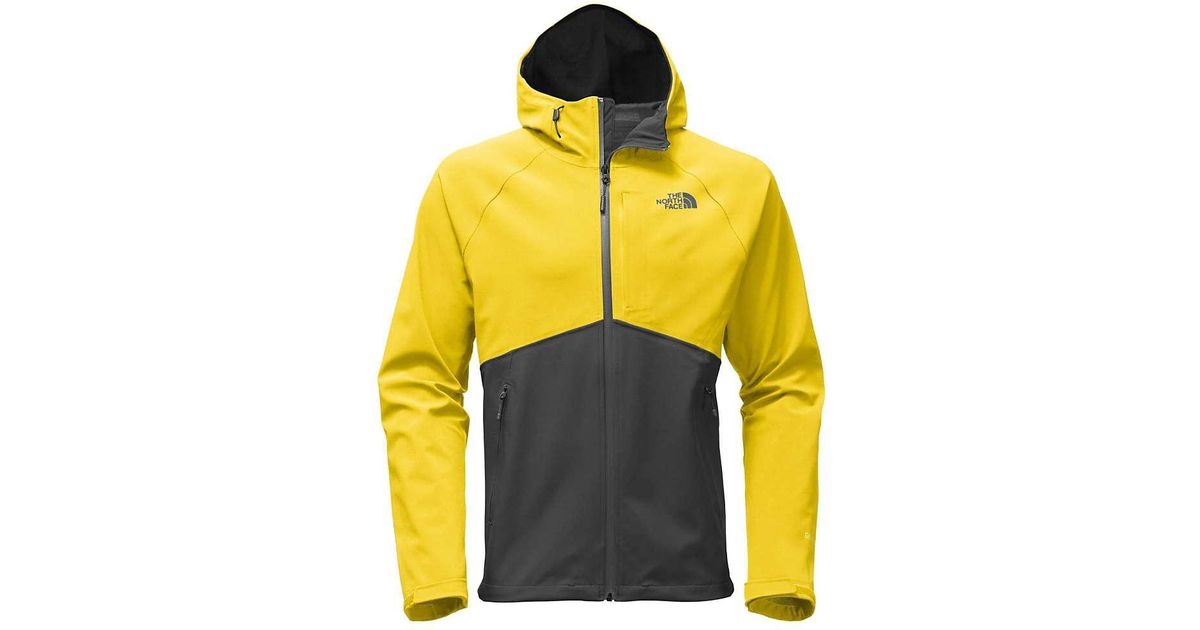 Lyst - The North Face Apex Flex Gtx Jacket in Yellow for Men f62240103