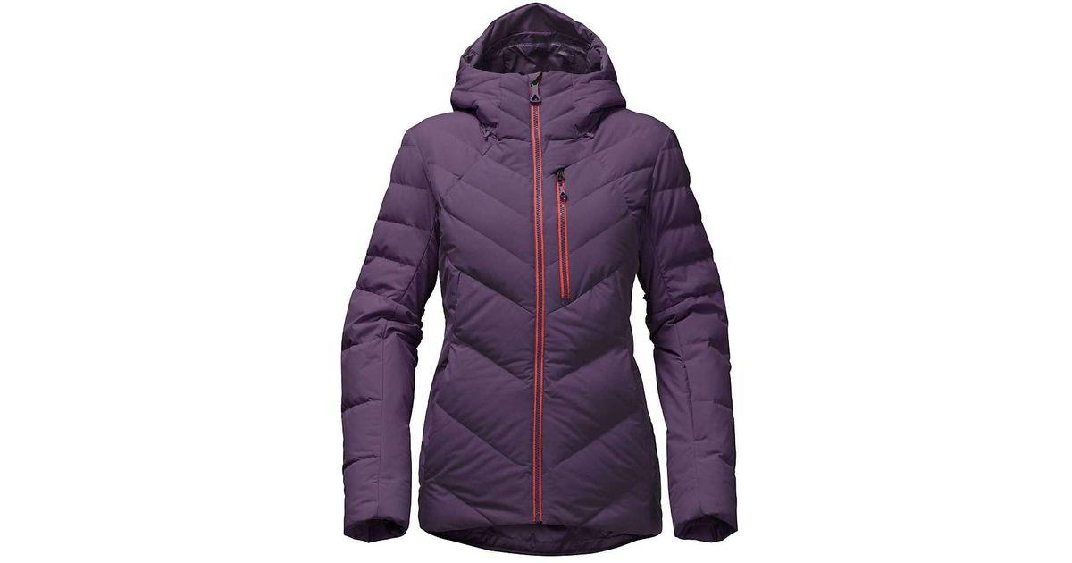 b01988efc The North Face - Purple Corefire Down Jacket - Lyst