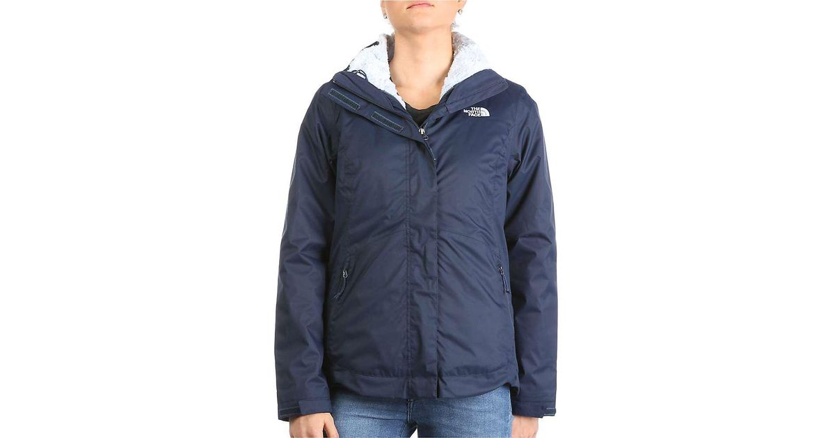 a0a9747e4f65 Lyst - The North Face Mossbud Swirl Triclimate Jacket in Blue