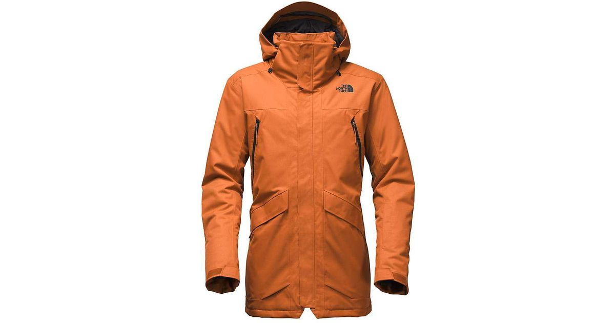 3534ed566248 Lyst - The North Face Gatekeeper Jacket in Orange for Men