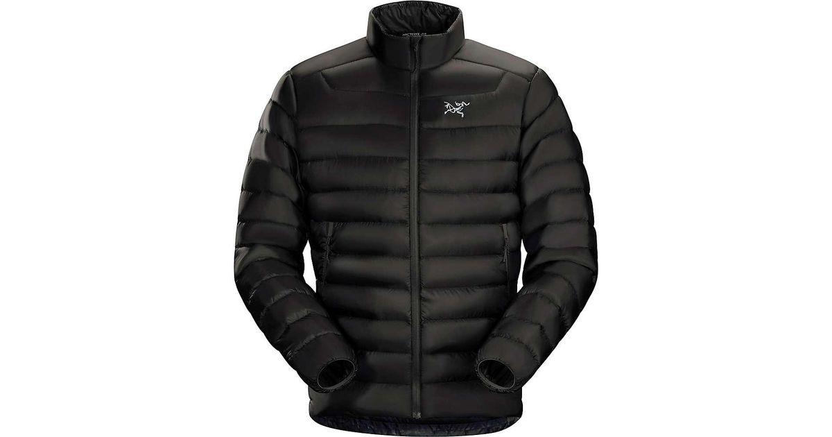 fe9042fabb Arc'teryx Cerium Lt Down Jacket in Black for Men - Lyst