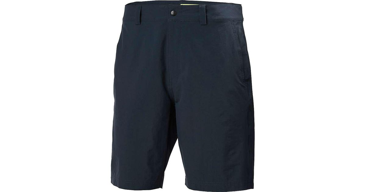 f5af02a142 Lyst - Helly Hansen Hp Quick Dry Club Short in Blue for Men