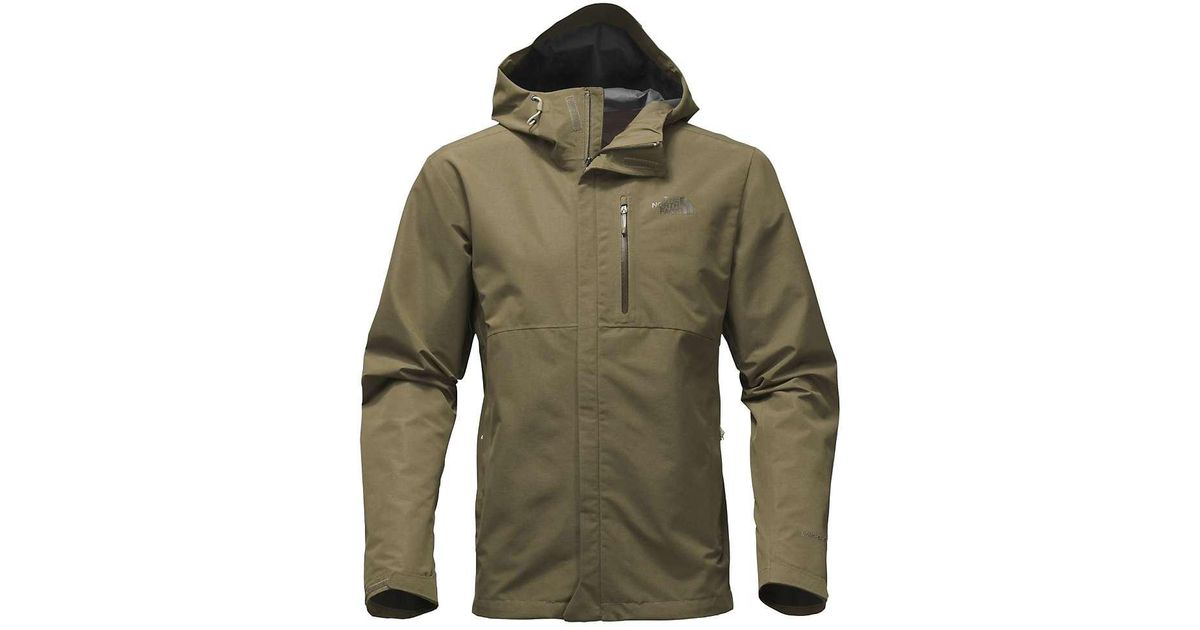217b4d2f4 The North Face - Green Dryzzle Jacket for Men - Lyst