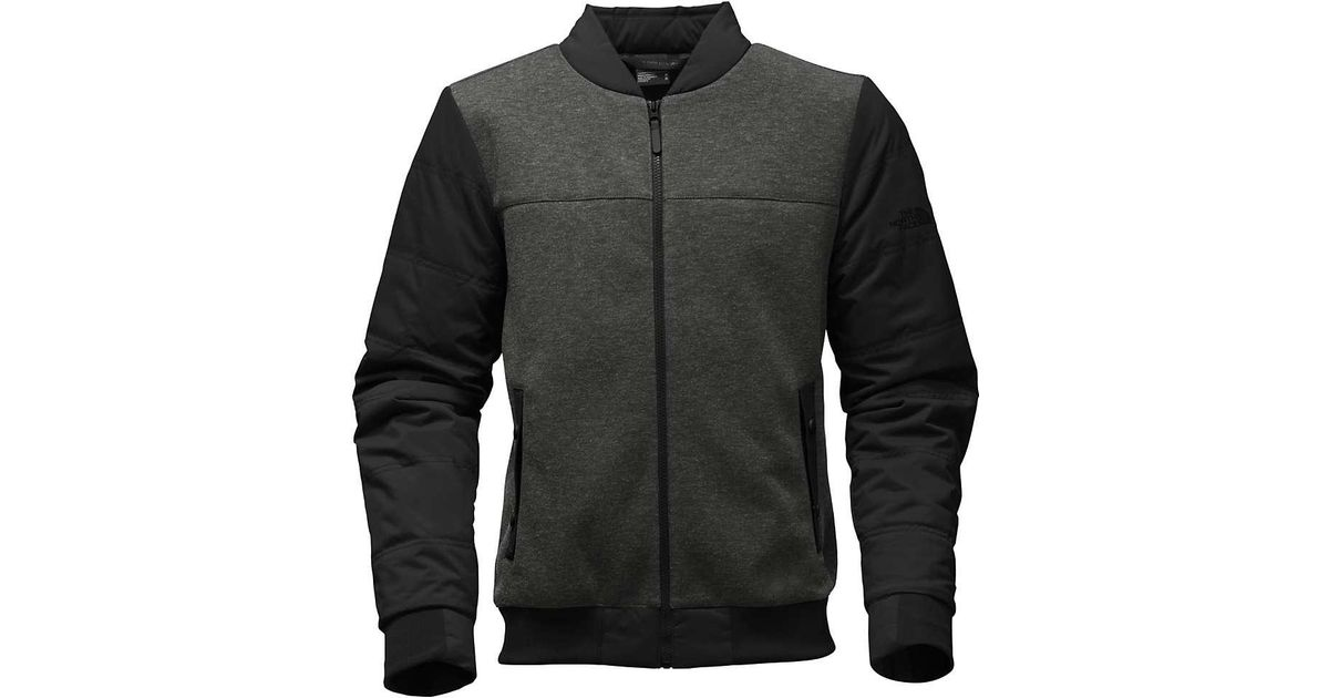 8a96a9ab3c Lyst - The North Face Far Northern Hybrid Bomber in Black for Men