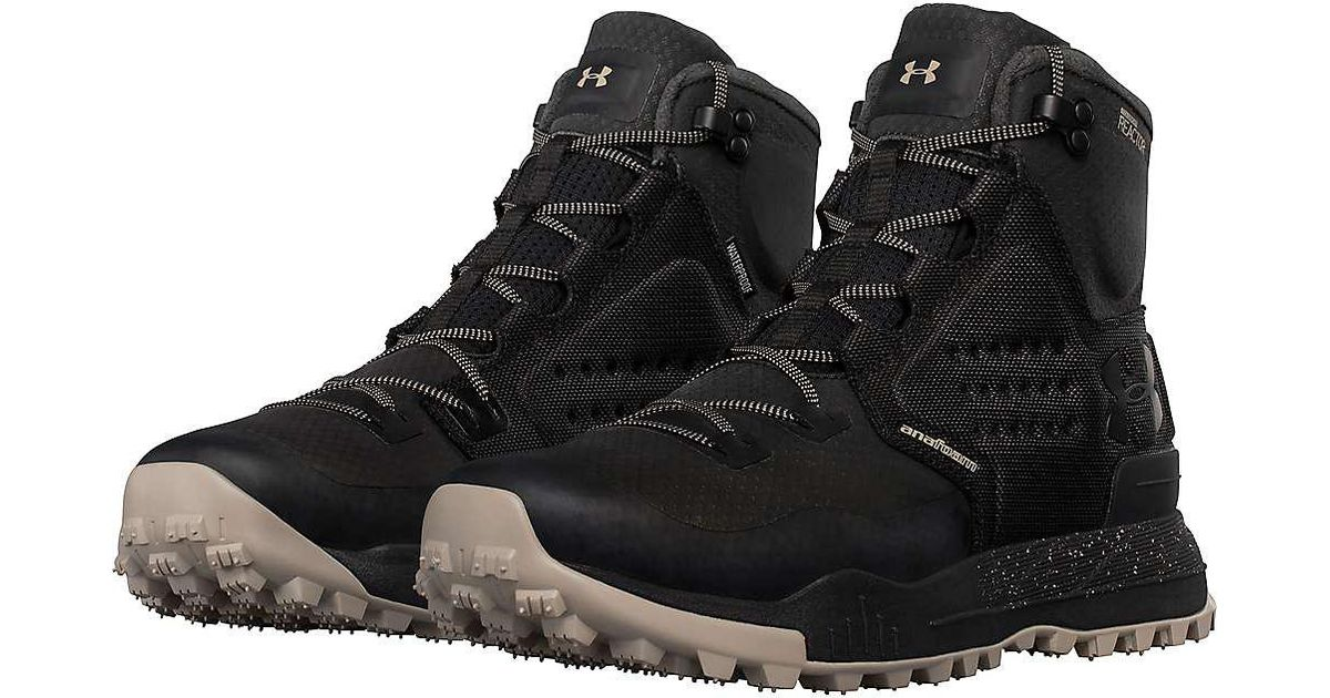 best authentic e4dc3 38897 Under Armour Ua Newell Ridge Mid Reactor Boot in Black for Men - Lyst