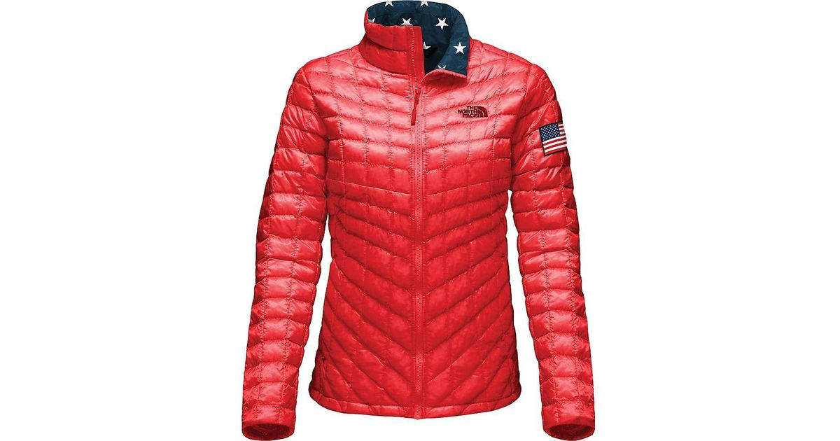 Lyst - The North Face Ic Thermoball F z Jacket in Red c34f11804