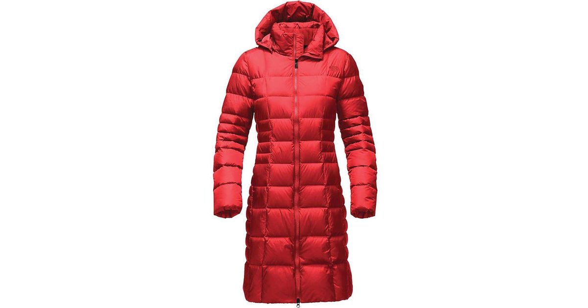 f76ff7b23 The North Face - Red Metropolis Ii Parka - Lyst